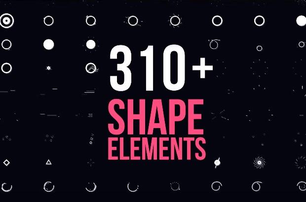 Shape Elements After Effects Dinamis
