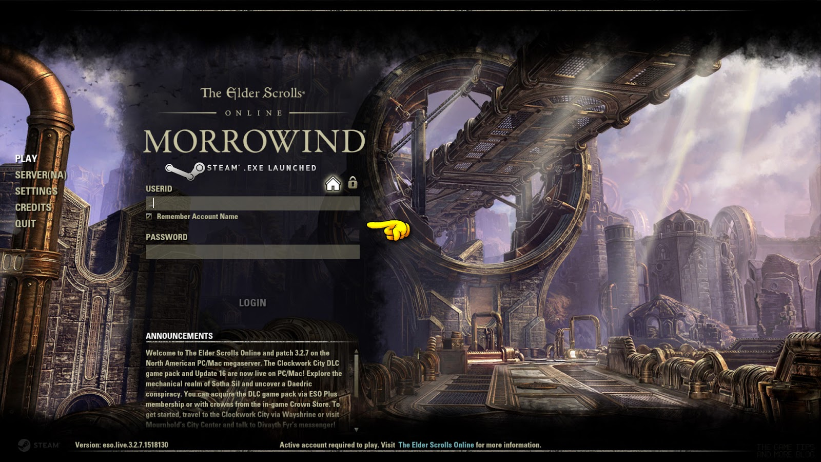 The Game Tips And More Blog: The Elder Scrolls Online - How