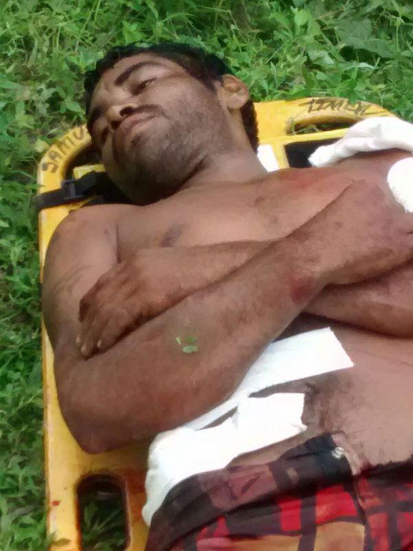 Suspeito de praticar assaltos no Brejinho é baleado e preso após troca de tiros com PMs