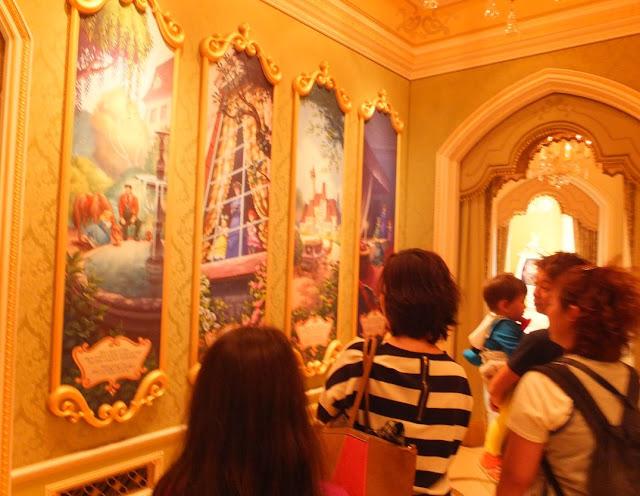 Tokyo Disneyland Inside Castle