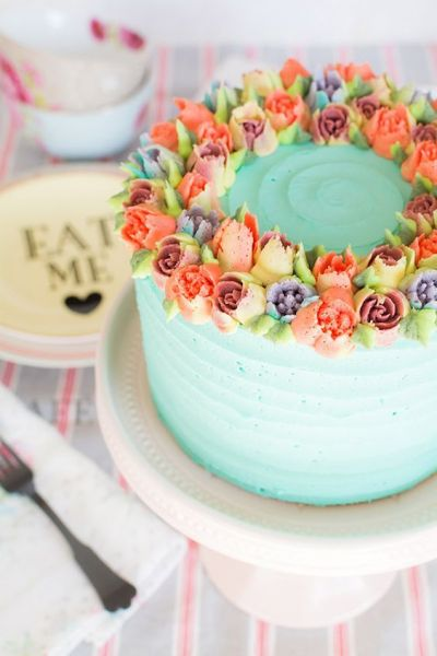Floral Buttercream Cake