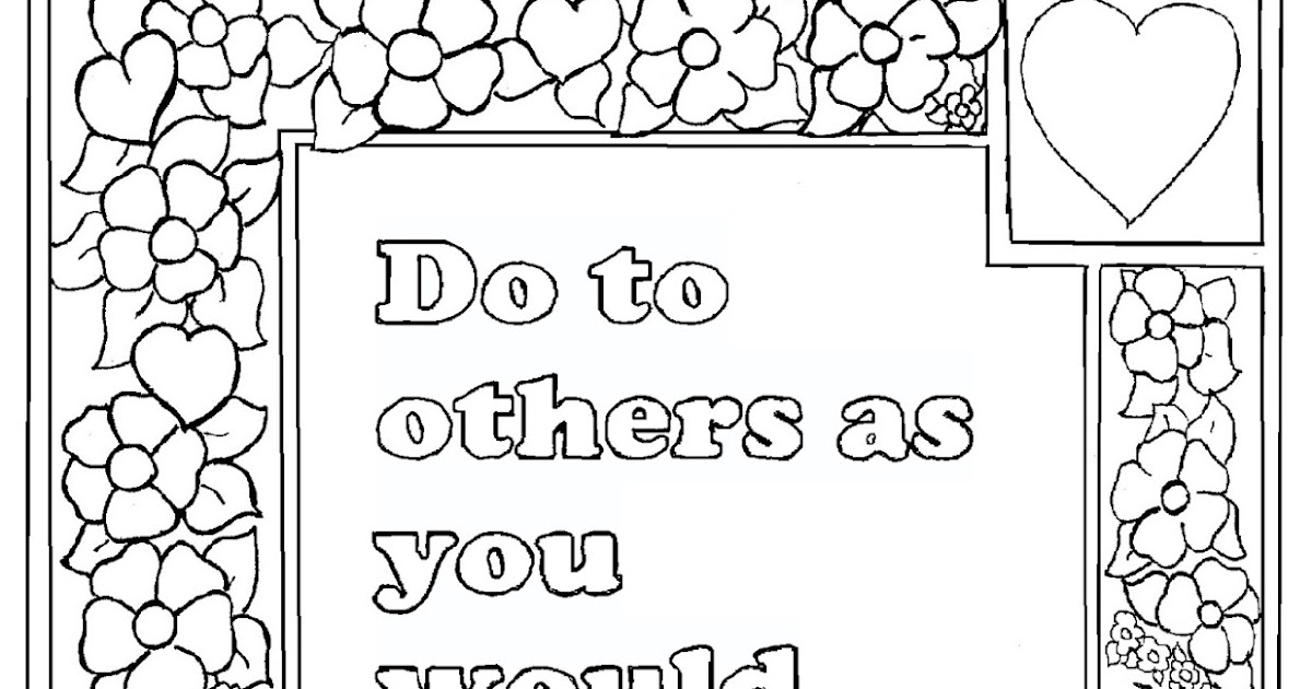 bible luke coloring pages - photo#42