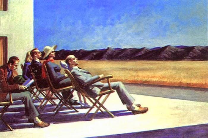 Pessoas ao Sol - Edward Hopper e suas principais pinturas ~ O pintor da solidão