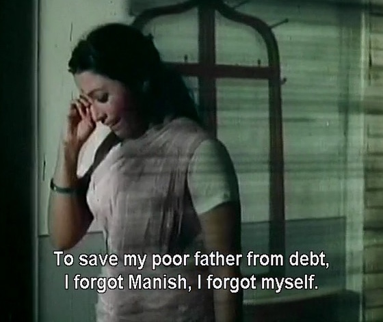 To save my poor father from debt, I forgot Manish, I forgot myself