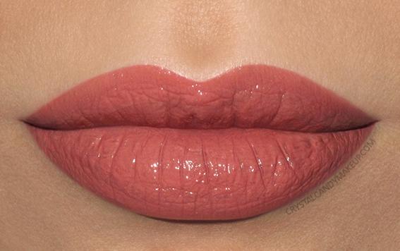 Lise Watier Rouge Intense Suprême Lipstick Swatch Maya