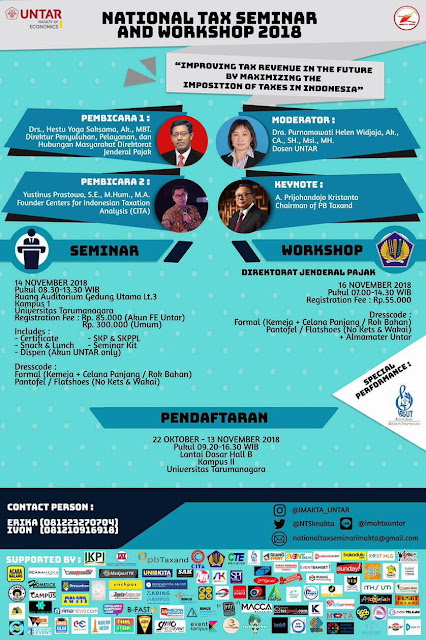 NATIONAL TAX SEMINAR AND WORKSHOP 2018