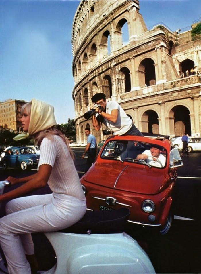 Britt Ekland Amp Peter Sellers In Rome 1965 Vintage Everyday