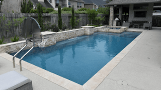 Custom Geometic Inground Pool Builder DFW  0