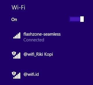 Cara Menghubungkan Flashzone Seamless di Laptop