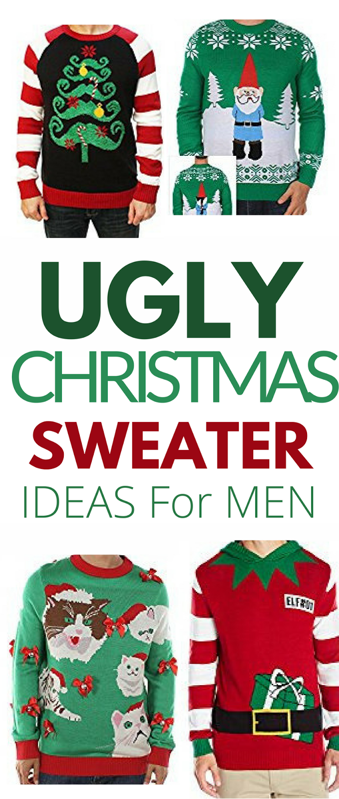 mens ugly christmas sweaters, sweater, sweater party, 17 Ugly Christmas Sweater Ideas For Men - Thirty Eighth Street