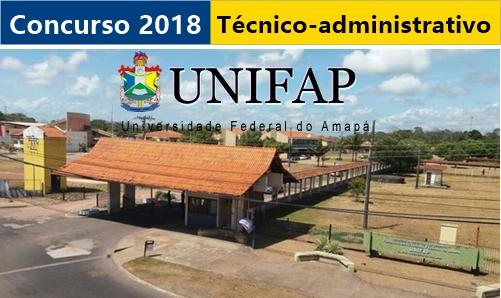 Edital concurso UNIFAP Universidade Federal do Amapá (AP)