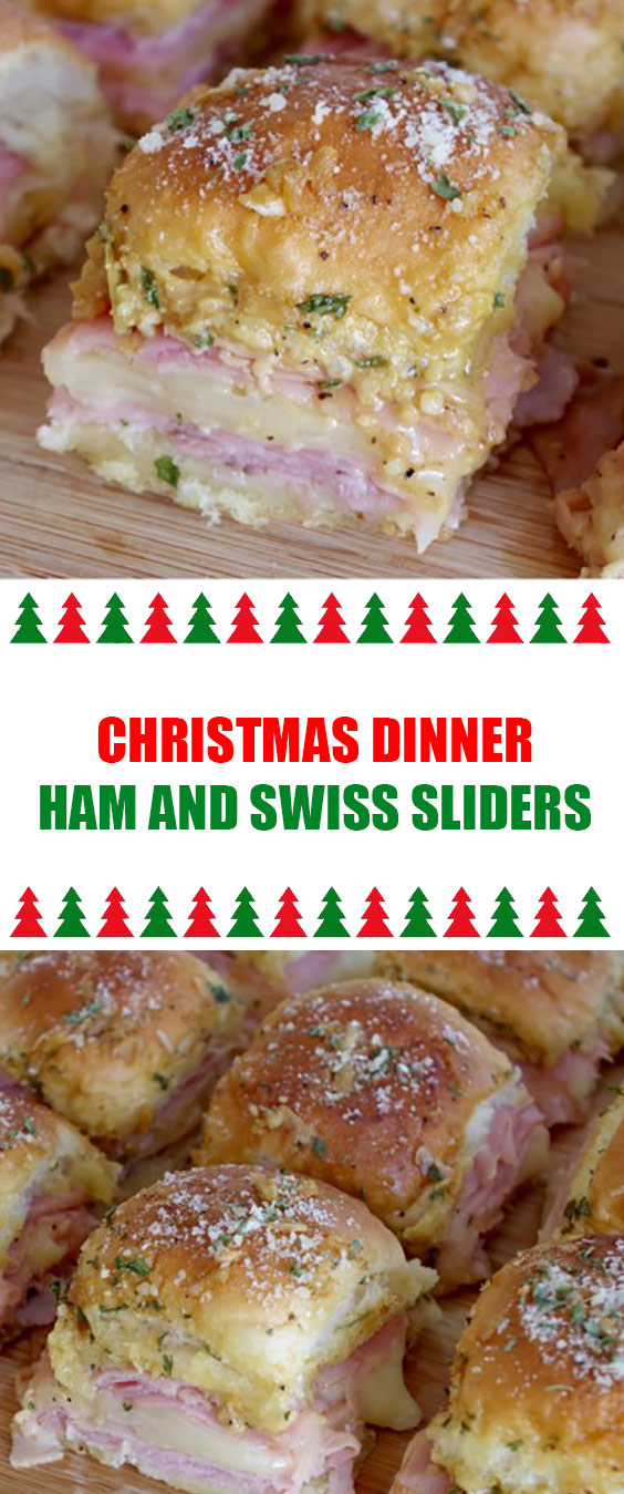 Dinner Ham and Swiss Sliders