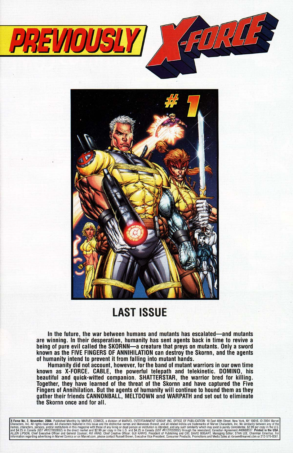Read online X-Force (2004) comic -  Issue #2 - 2