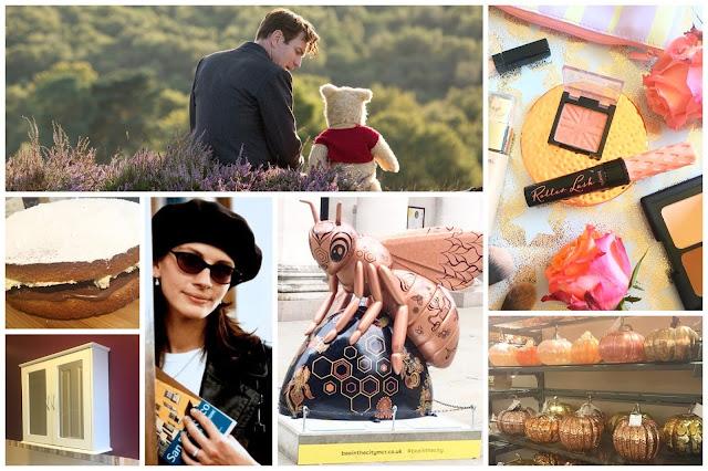 Christopher Robin, Notting Hill, Nutella Victoria Sponge, Redecorating, Mnachester Bees, Homesense, Rimmel Blusher