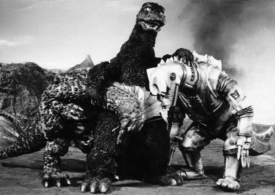 Dibujos Godzilla Raids Again 1955 Para Colorear: MUSINGS OF A SCI-FI FANATIC: SciFiNow: The Complete Guide