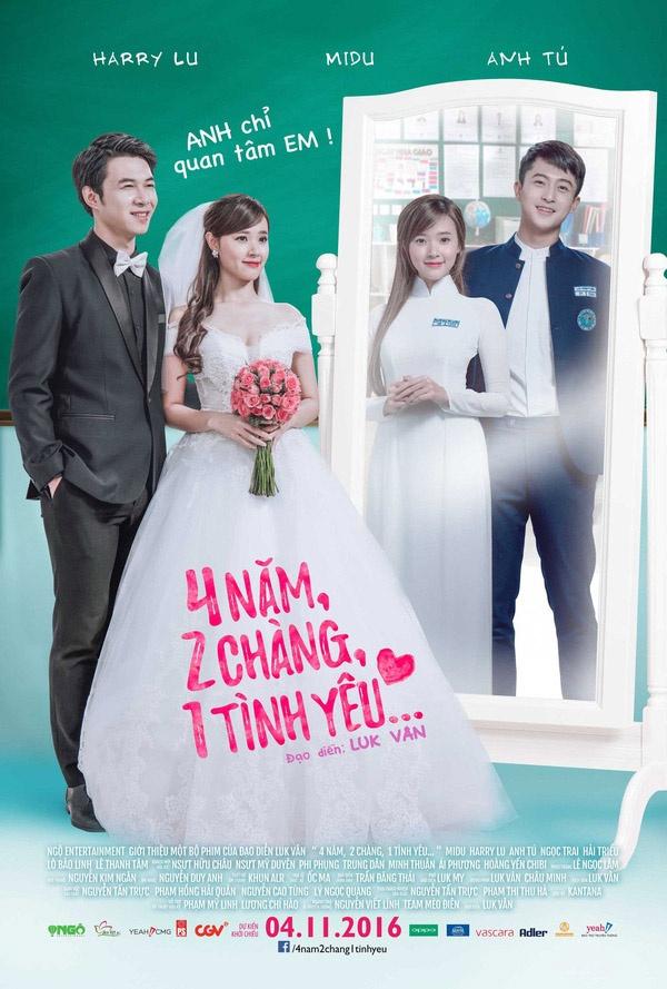 Xem Phim 4 Năm 2 Chàng 1 Tình Yêu 2016