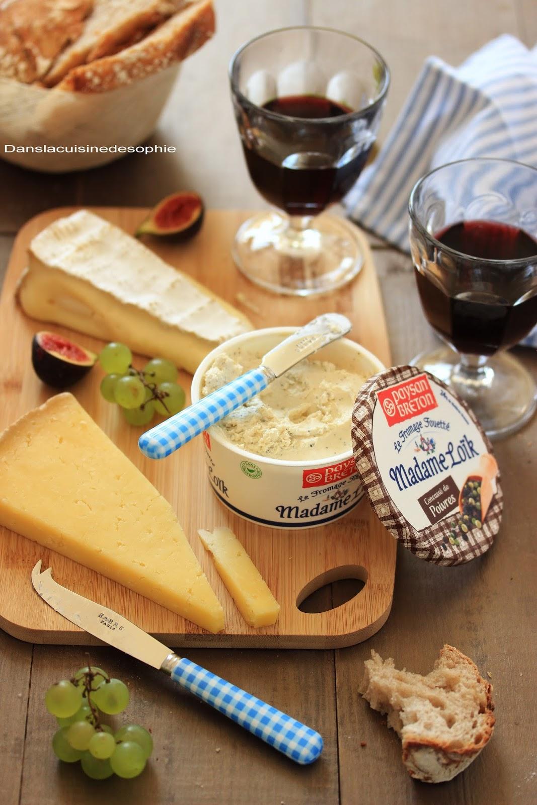 Jeu concours le plateau de fromages de madame lo k for Jeu concours cuisine