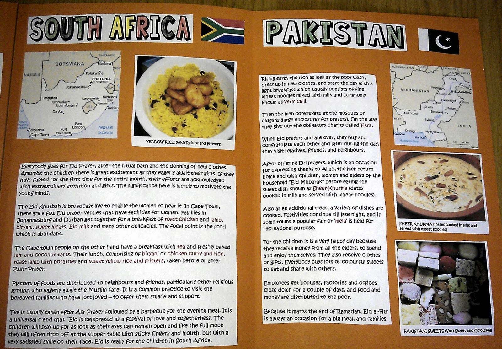 Iman S Home School Eid Around The World Scrapbook