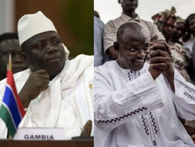 Gambia bans the internet & international phone calls as their presidential election holds today