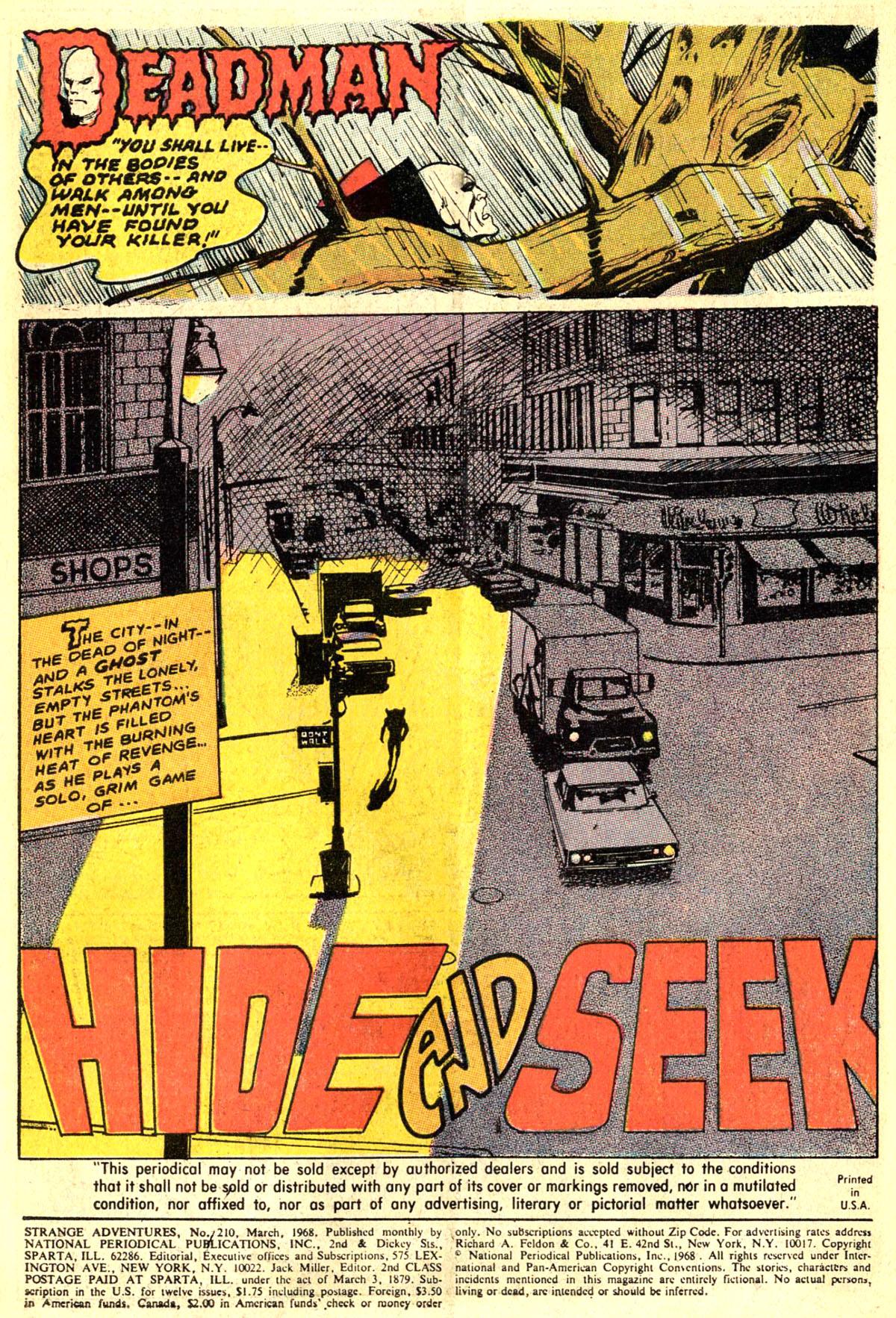 Strange Adventures (1950) issue 210 - Page 3