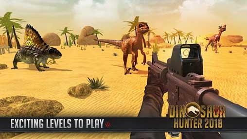 تحميل لعبة ديناصور هنتر 2018 مهكرة آخر إصدار
