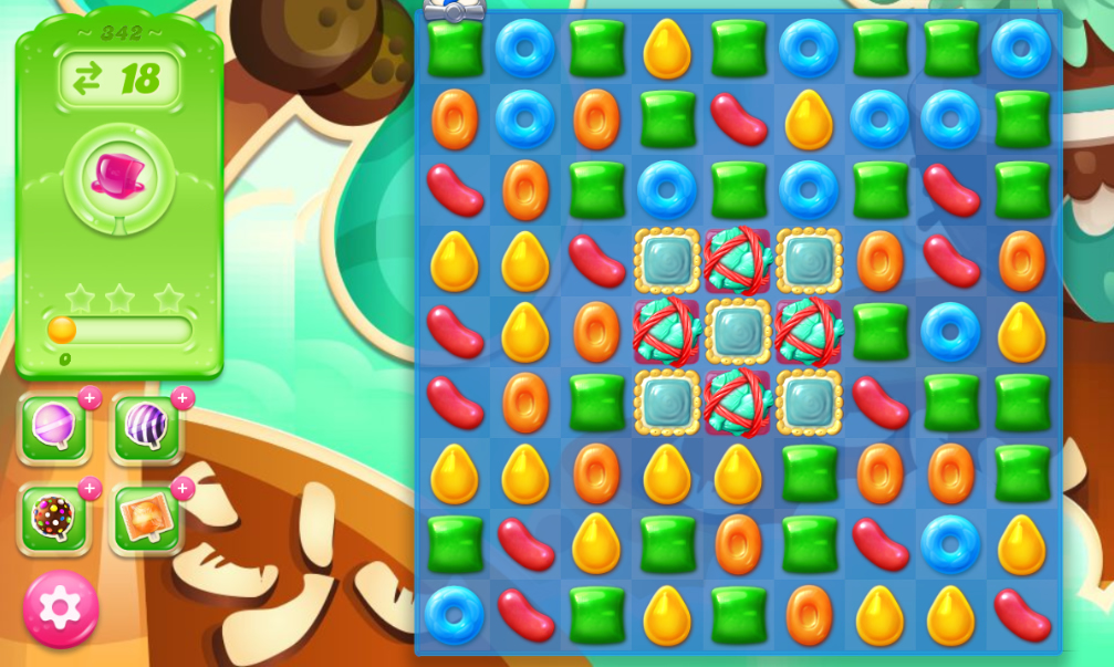 Candy Crush Jelly Saga 342
