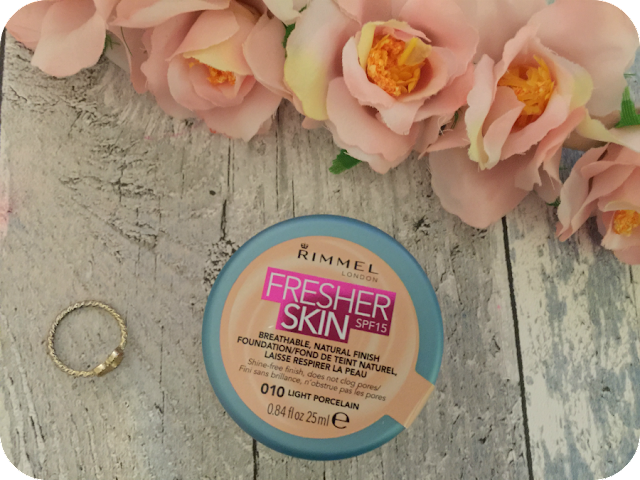 rimmel fresher skin foundation review