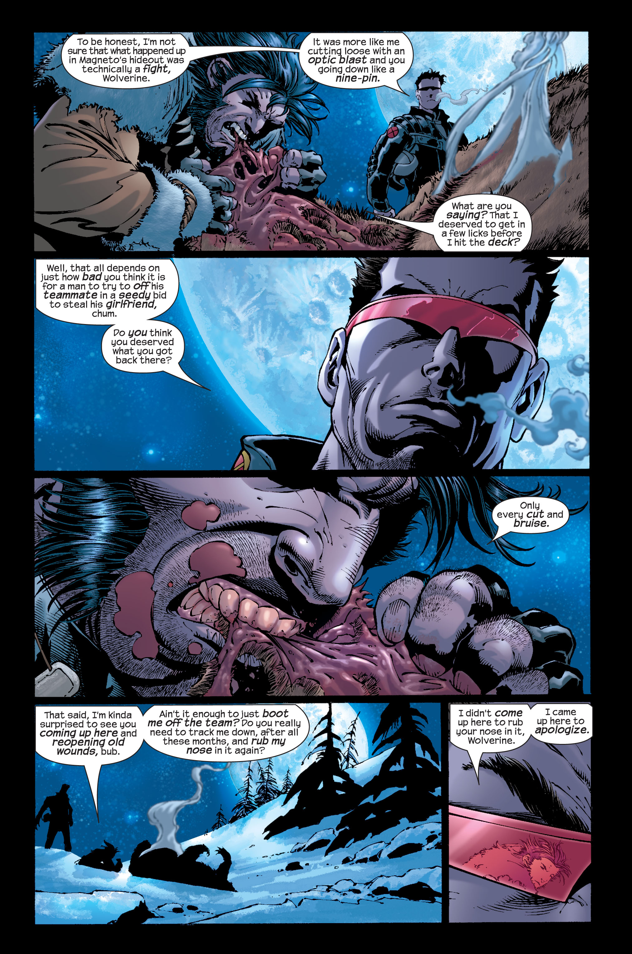 Read online Ultimate X-Men comic -  Issue #33 - 12