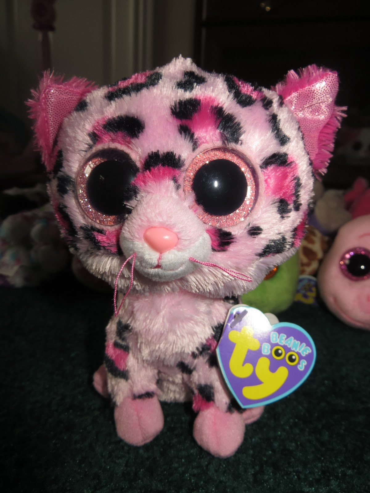 538fbf8819c I would like to take this opportunity to greet my hubby HAPPY BIRTHDAY  Gummy Bear!   Sharing a special day with a very pretty Beanie Boos GYPSY  (Pink ...