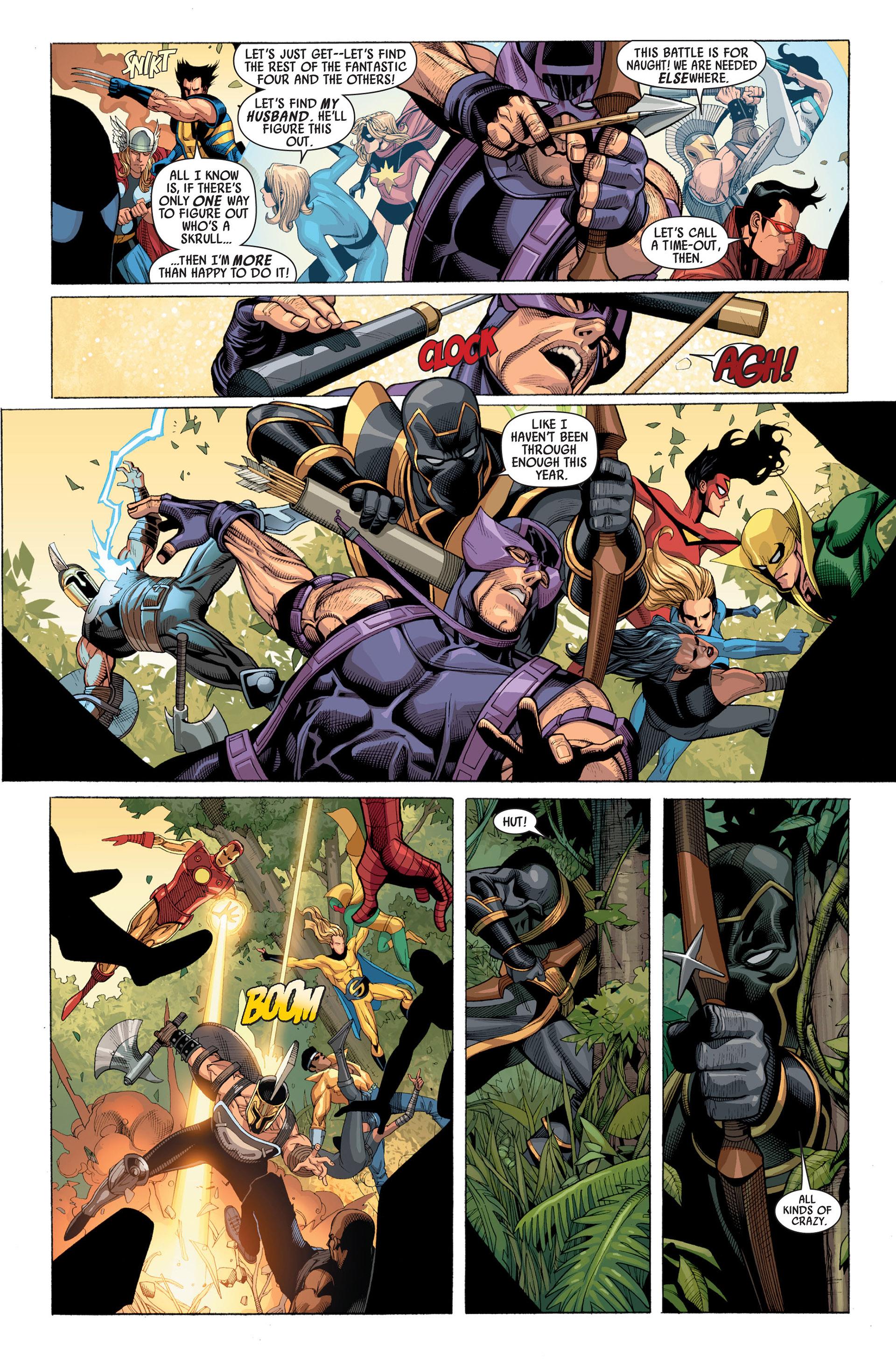 Read online Secret Invasion comic -  Issue #2 - 8