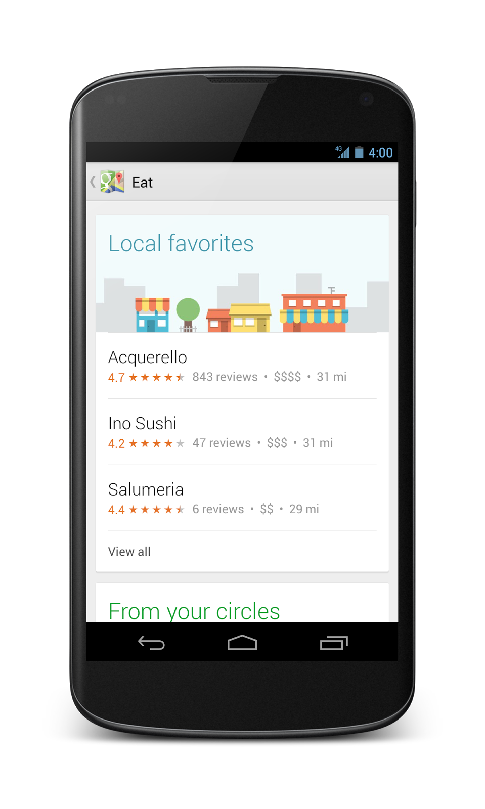 Google Lat Long: A new Google Maps app for smartphone and