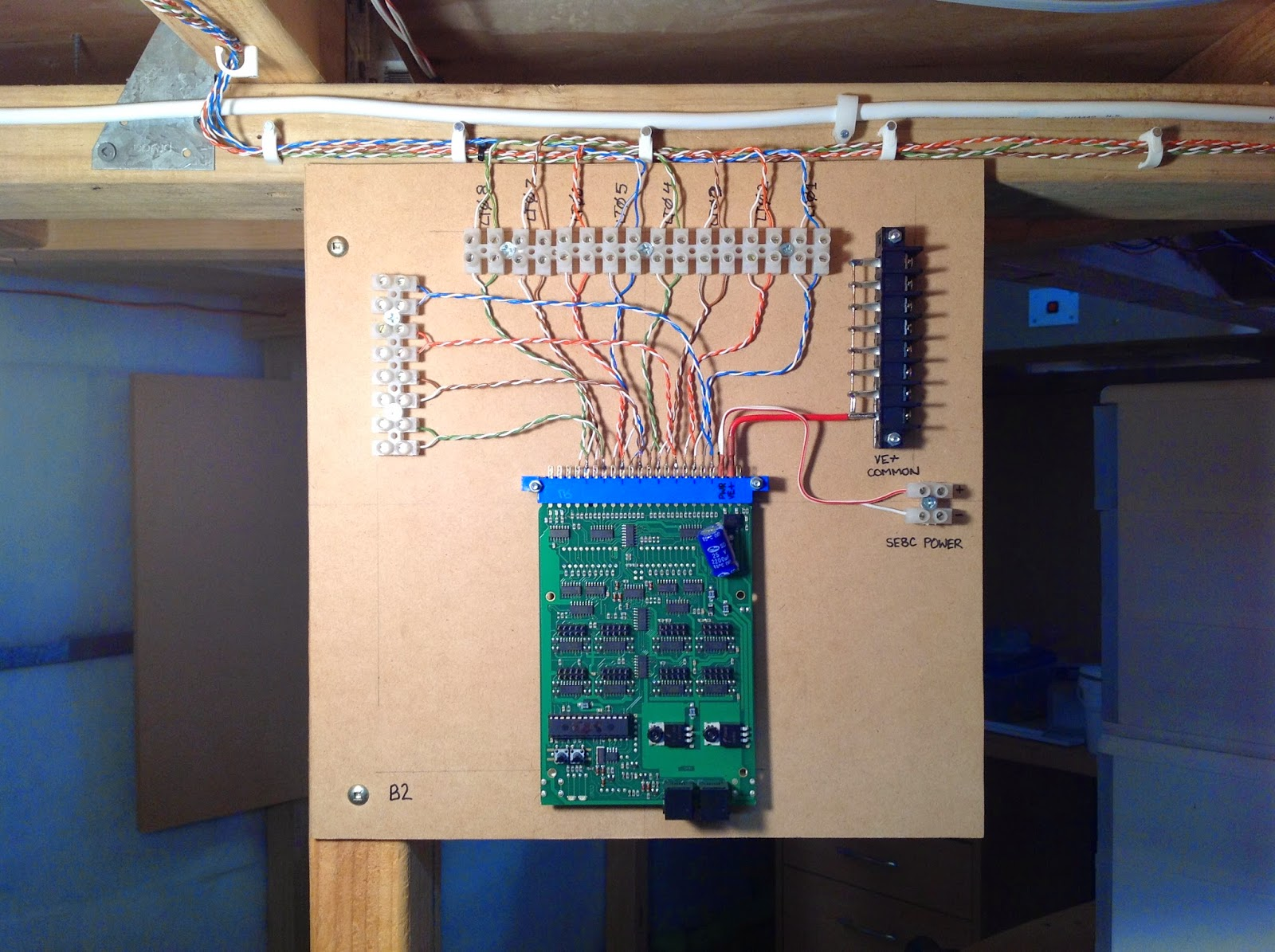 Jlandt Railroad March 2015 Troubleshooting Wiring Problems With The Loconet So Here Is Another Board Completed Next Step To Make Up Cable And Connect Existing Se8c Program It Into Jmri Tables