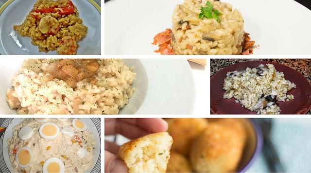 6 recetas fáciles con arroz