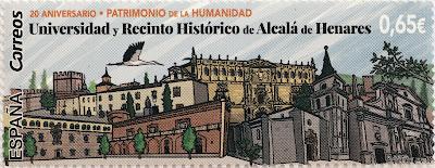 20 ANIVERSARIO DE LA DECLARACIÓN DE LA UNIVERSIDAD Y RECINTO HISTÓRICO DE ALCALÁ DE HENARES COMO PATRIMONIO DE LA HUMANIDAD