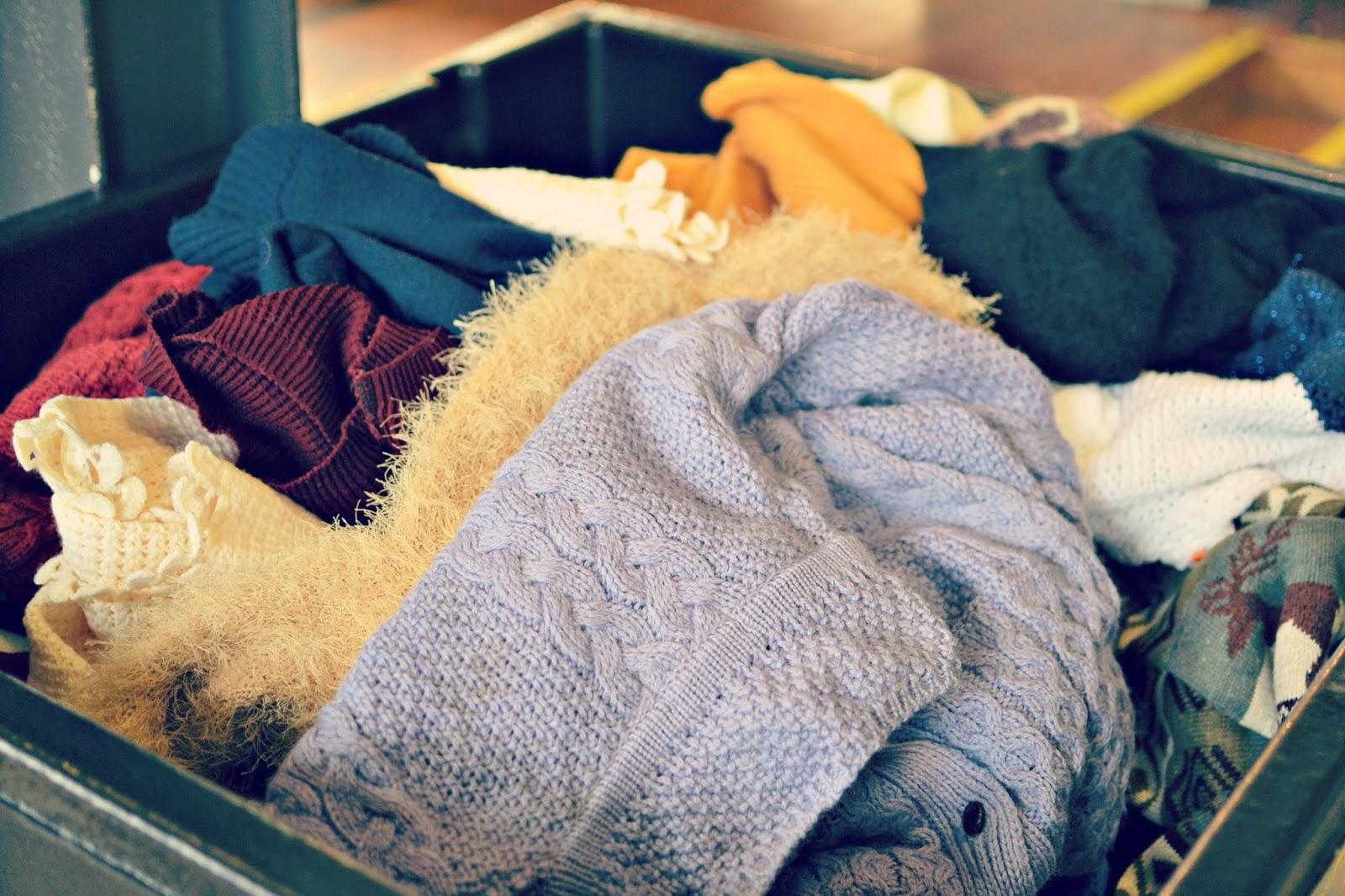 vintage kilo sale knitwear