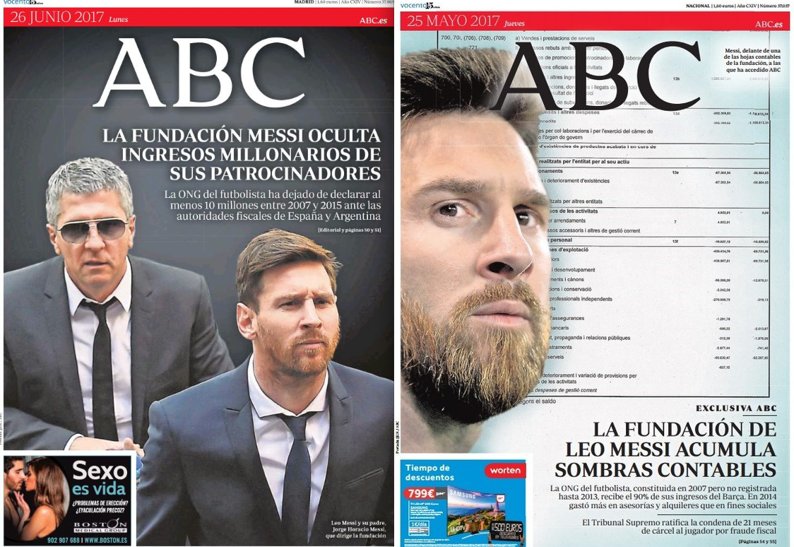Resultado de imagen para Messi pierde JUICIO  ABC