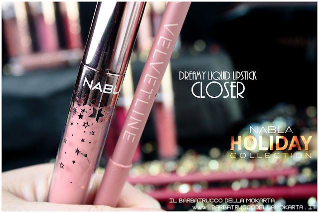 closer opinioni liquid lipstick velvetline  nabla rossetto liquido