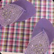 Sandalias tres puntadas a Crochet o Ganchillo