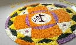 onam pookalam best photos
