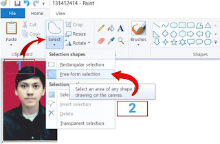 Cara Mengganti Background Foto Dengan Paint
