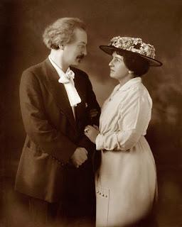 Zdjęcie ślubne Heleny i Ignacego Paderewskich - Warszawa 1899