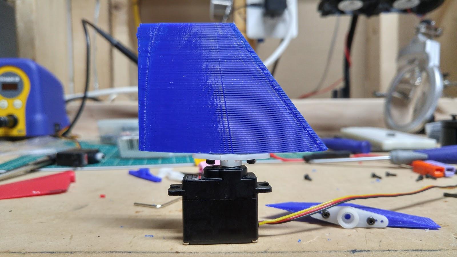 Arduino rocket stabilization system ud