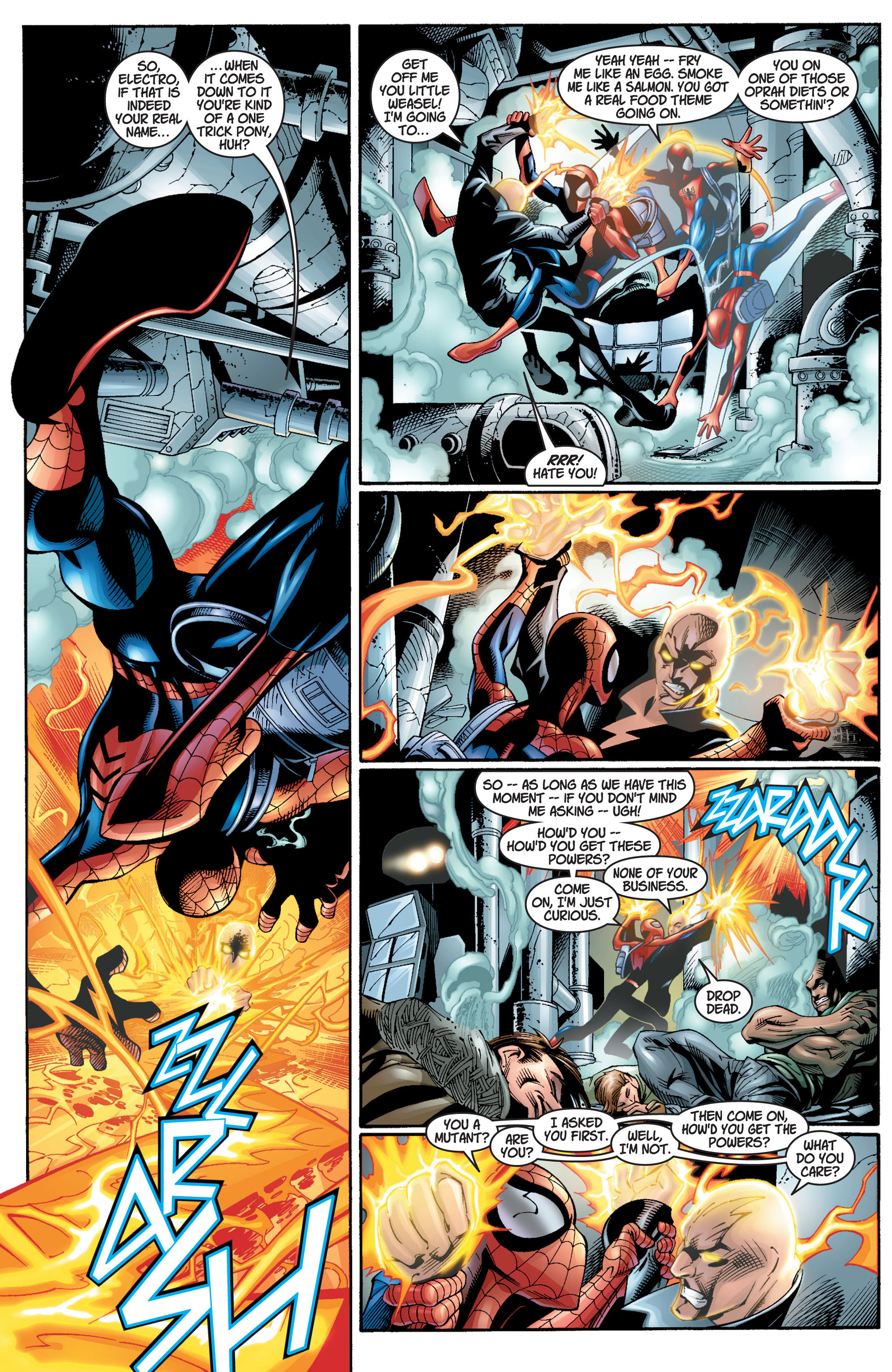 Read online Ultimate Spider-Man (2000) comic -  Issue #12 - 7