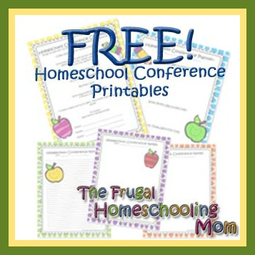 Homeschool Conference Checklist and To Do List WITH Note-Taking