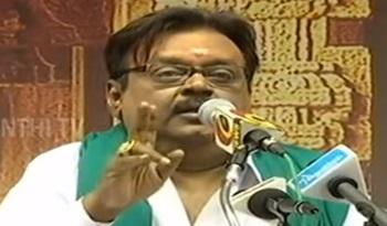Vijayakanth asks people to Choose Makkal Nala Koottani instead of ADMK & DMK | ThanthI Tv