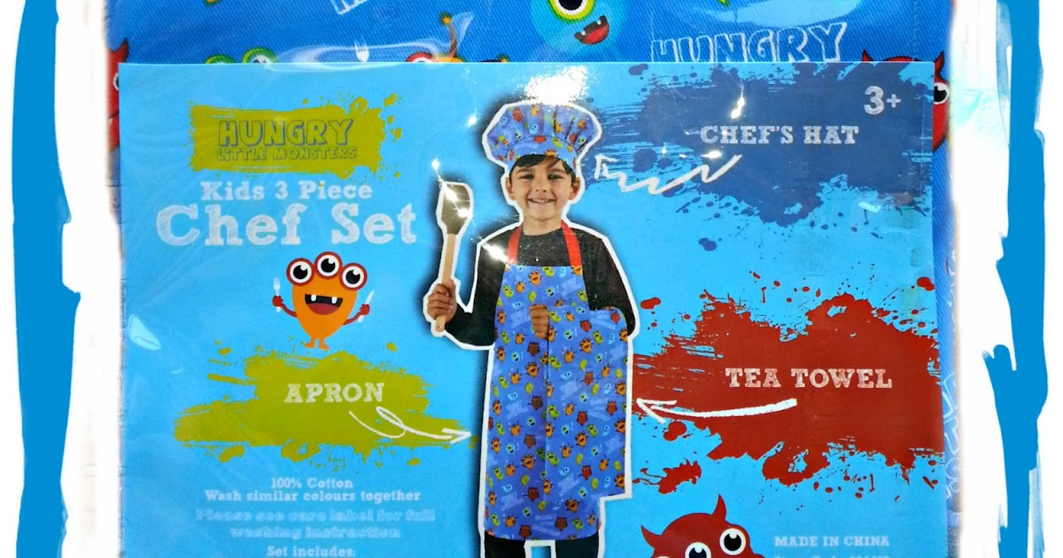 Child S Kitchen Set Apron