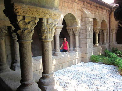 Monastery of Sant Miquel in The Poble Espanyol
