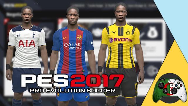 قنبلة : أضافة اليكس هانتر للعبة PES 2017  |  و استمتع بطور كن أسطورة