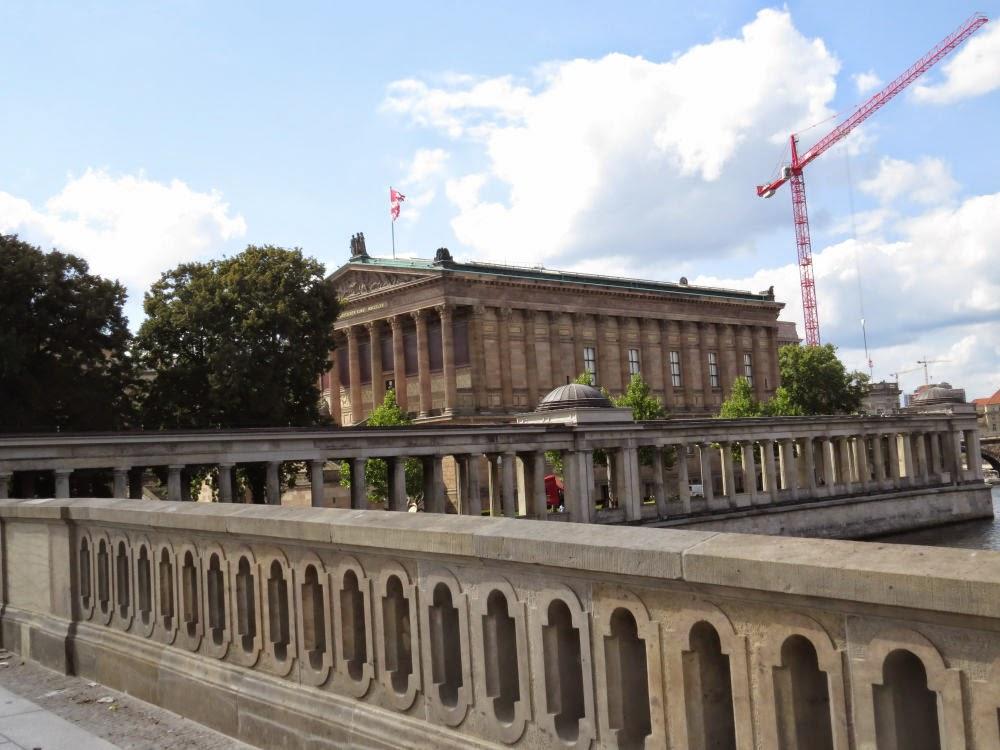 אי המוזיאונים - בתמונה המוזיאון הישן