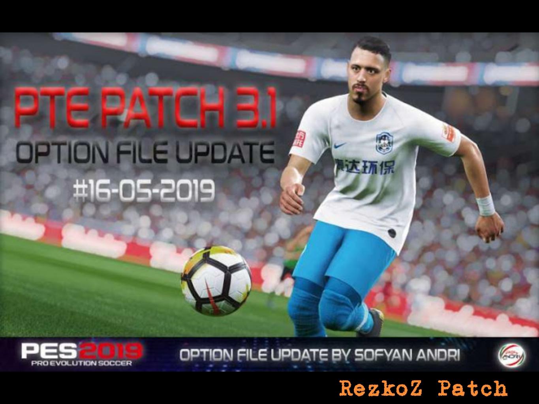PES 2019 Option File For PTE Patch V3 1 Update 16/05/2019